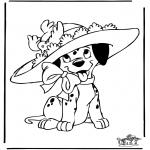 Персонажи комиксов - 101 Далматинец 7