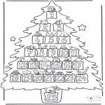 Рождественские раскраски - Адвентисткий календарь