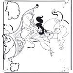 Персонажи комиксов - Аладдин 1