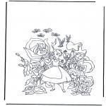 Персонажи комиксов - Алиса в стране чудес 1