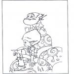 Персонажи комиксов - Артур и минипуты 1