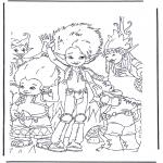 Персонажи комиксов - Артур и минипуты 2