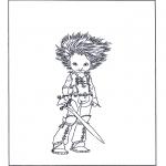 Персонажи комиксов - Артур и минипуты 3