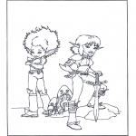 Персонажи комиксов - Артур и минипуты 4