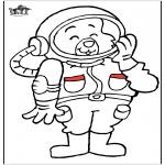 Разнообразные - астронавт кошки