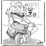 Персонажи комиксов - Барби 12