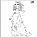 Персонажи комиксов - Барби - Свадебное платье