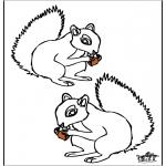 Раскраски с животными - Белк 4
