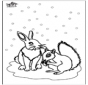 Белка и Кролик