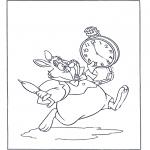 Персонажи комиксов - Белый Кролик