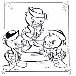 Персонажи комиксов - Билли, Вилли и Дилли 1