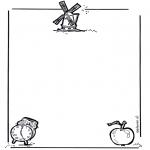 Рукоделие - Бумага для писем 1