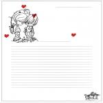Рукоделие - Бумага для писем 7