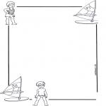 Рукоделие - Бумага для писем Ребенок