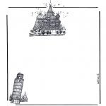 Рукоделие - Бумага для писем Здания