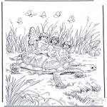 Разнообразные - Черепаха и эльфы
