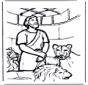 Даниил во рву со львами 1