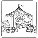 Детские раскраски - Даша-следопыт 13