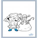 Детские раскраски - Даша-следопыт 17