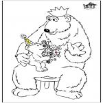 Темы - День отца - медведь