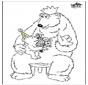День отца - медведь