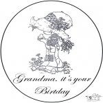 Рукоделие - День рожденья бабушки