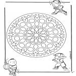 Мандалы -  детская геомандала 1