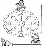 Мандалы - детская мандала 11