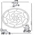 Мандалы - детская мандала 12
