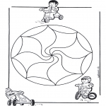 Мандалы - детская мандала 14