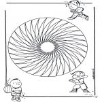 Мандалы - детская мандала 20