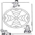 Мандалы - детская мандала 8
