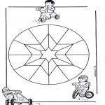 Мандалы - детская мандала 9