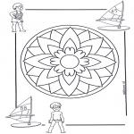 Мандалы - детская мандала5