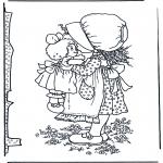 Разнообразные - Девочка с куклой