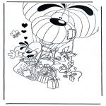 Персонажи комиксов - Диддл 11