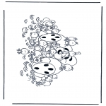 Персонажи комиксов - Диддл 32