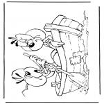 Персонажи комиксов - Диддл 38