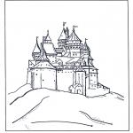 Персонажи комиксов - Диснеевский Замок