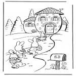 Темы - Дом пасхального зайца