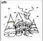 Дом в снегу 2