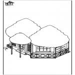 Разнообразные - домик на пляже