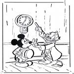 Персонажи комиксов - дядя Скрудж 1