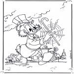Персонажи комиксов - дядя Скрудж 2