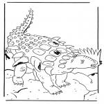 Раскраски с животными - Эдмонтония