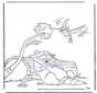 Енот и колибри
