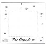 Рукоделие - Фоторамка для бабушки