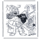 Персонажи комиксов - Гарри Поттер 7