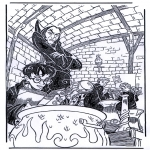 Персонажи комиксов - Гарри Поттер 8