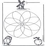 Мандалы - геомандала 1